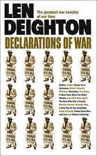 Declarations of War by Len Deighton (Paperback) Book
