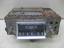 1957 Chevy Belair 210 150 2 & 4 Door Sedan Hardtop AM non-push button radio 2344