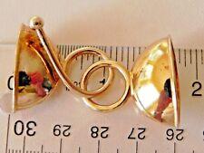 Modern Gold Vermeil Sterling Silver .925 Multi-Strand Hook & Eye Necklace Clasp