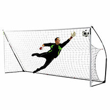 NEW Quickplay Kickster Academy 9 a Side Football Goal 16x7 Cheap Portable Goals