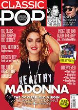 Classic Pop #12,Madonna,Janet Jackson,Adam & The Ants,Clare Grogan,PRINTS SEALED