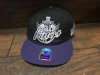 20754 New Los Angeles KINGS NHL Hockey Player Cap - Snapback Hat  w tags