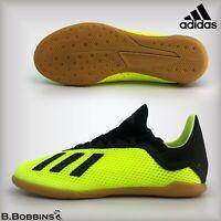 ⚽ SALE Adidas X 18.3 INDOOR Football Boots Size UK 10 10.5 Infant UK 4.5 J Boys