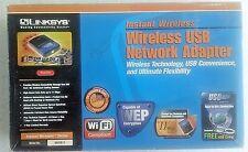 LINKSYS Wireless USB Network Adapter, Model WUSB11