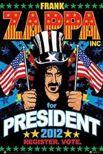 """Frank Zappa for President 2012 Laminated Poster - 24.5"""" x 36.5"""""""