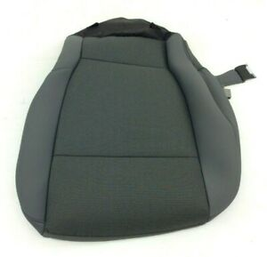 15-19 Ford F-150 front left driver side Medium Gray Cloth Seat Pad Cover new OEM