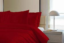 Plain Duvet Cover Bedding Set - Single Double King Including Pillow Cases