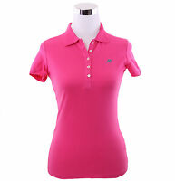 Aeropostale Women A87 Solid Classic Piqué Polo Shirt Style 4163-Free $0 Shipping