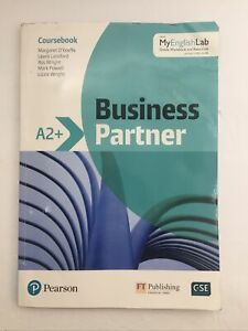Business Partner A2+ Coursebook and Standard MyEnglishLab Pack 9781292248592