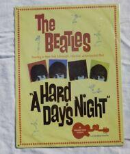 "New The Beatles ""A Hard Days Night"" 12""x16"" Retro Movie Poster Metal Tin Sign"