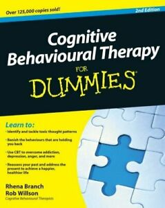 Cognitive Behavioural Therapy For Dummies by Branch, Rhena Paperback Book The