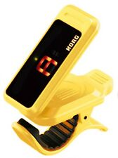 Tuner KORG PC-1 Pitchclip Low-Profile Clip-on Guitar Chromatic Instrument Yellow