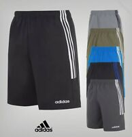 Mens Adidas Elasticated Waist Mesh 3 Stripe Chelsea Shorts Sizes from S to XXXL
