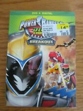 Power Rangers Dino Charge Breakout  Dvd  (NEW)