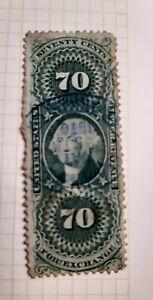 United States: Foreign exchange Revenue stamp. MY REF B85