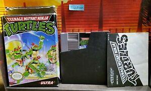 Teenage Mutant Ninja Turtles (Nintendo Entertainment System, 1989) original