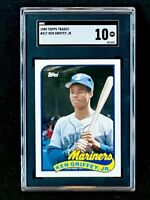 1989 Topps Traded #41T Ken Griffey Jr. Rookie Seattle Mariners SGC 10