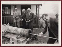 Original Photo Trafalgar Day 1969 Collingwood Templer