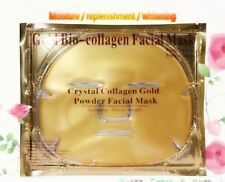 20 Pieces Gold Bio Collagen Facial Face Mask, Moisturizing Sheet Gel EXP:06/2019