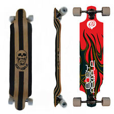 Easy People Longboards DD-0S Drop DownLongboard Complete Deck Lowrider Hot Stuff