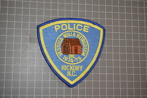 Hickory North Carolina Police Department Patch (T3)