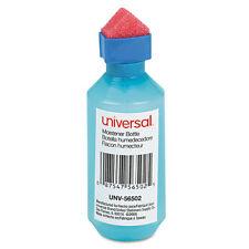Universal Squeeze Bottle Moistener, 2 oz, Blue, EA - UNV56502