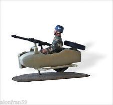 LEAD SOLDIERS MOTORCYCLE- sidecar Zündapp KS 750 Fallchirmjagers - SMI037