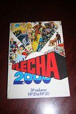 FLECHA 2000 - Portuguese comics magazines 1978 - Nº 21 to Nº 30