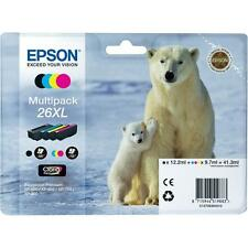 Genuine Epson 26XL conditionnement multiple T2636 cartouches d'encre pour Expression XP-710 XP-700