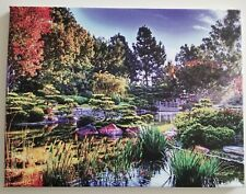 """Canvas Print Japanese Spring Floral Asian Scenery 12""""x16"""""""