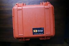 Pelican 1300 case - orange, foam included