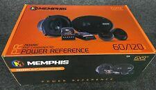 New listing Memphis Prx690C 6x9� Power Reference Component Set 60/120 Watt Rms/Peak Power