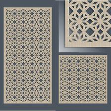 Dekorpaneele mit Ornament Stern - Holz - Wandverkleidung Deckenverkleidung