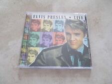 Live by Elvis Presley (CD,2000)