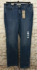 Levis 414 Classic straight jeans womens 24W NEW mid rise stretch 236480009 B5L2