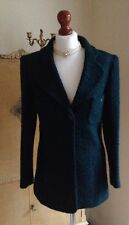 Authentic CHANEL Boutique Vintage Green Boucle Jacket Blazer FR36 UK8 Stunning!
