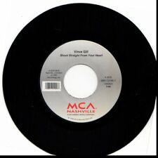 VINCE GILL SHOOT STRAIGHT FROM YOUR HEART/WHEN I LOOK INTO YOUR HEAR 45RPM VINYL