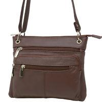 Women's Leather Purse Cross Body Shoulder Bag Handbag Organizer