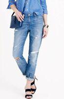 J Crew Broken In Boyfriend Jeans In Keough Wash Size 24