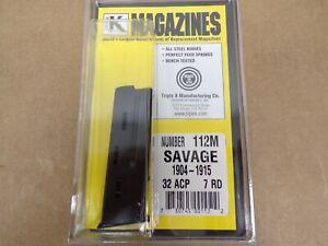 Savage Model 1904 - 1915 32 ACP Magazine by Triple K #112M