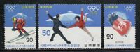 JAPON / JAPAN 1972 MNH SC.1103/1105 Olympic Games Sapporo