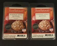 SCENTSATIONALS 12 Highly Scented PUMPKIN APPLE MUFFINS Wax Cubes 5 oz