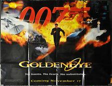 GOLDENEYE 1995 ORIG 46X60 SUBWAY MOVIE POSTER 007 BOND PIERCE BROSNAN SEAN BEAN
