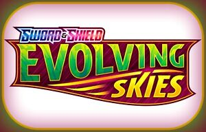 50x EVOLVING SKIES Codes Pokemon Online Booster Code Sword Shield - EMAIL FAST!