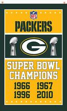 Green Bay Packers Football Champion Memorable flag 90x150cm 3x5ft best banner