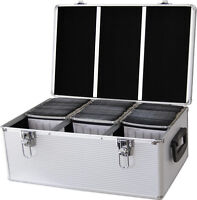 DynaSun CD 510 DVD DJ Flight Carry Case Aluminium Case Holder Disc Storage Box