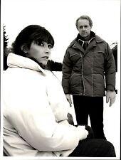 1986 Original CBS Photo Vanishing Act TV scene actor Margot Kidder Mike Farrell