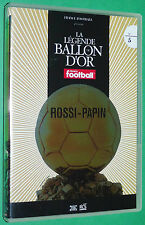 FOOTBALL BALLON D'OR PAOLO ROSSI JUVENTUS 1982 PAPIN JPP OM MARSEILLE 1991