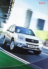 2004 Toyota Rav4 German Sales Brochure