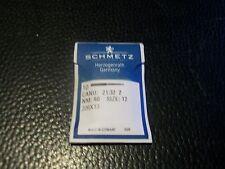 Needles for Singer 320K 206X13 Size 12/80 1 Pack, 10 Needles.
